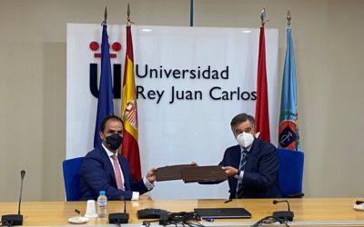 El Colegio Oficial de Farmacéuticos de Madrid y la Clínica Universitaria de la Universidad Rey Juan Carlos firman un acuerdo de colaboración